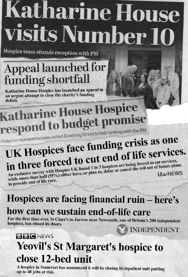 Hospice care in the headlines