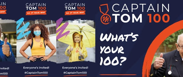 Captain Tom 100 challenge