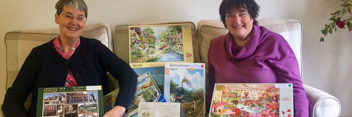 Puzzlers lend jigsaws to our Day Hospice